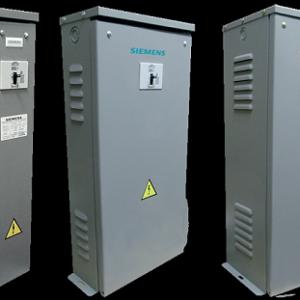 Banco de Capacitores de Potencia con Interruptor Termomagnético serie CCI 1,2 Y 3