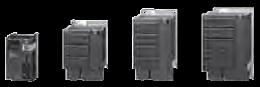 PM240 FS A-F (400 V) sin filtro, PM240 FS B-F (400 V) con filtro